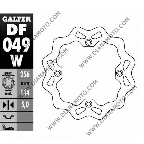 Спирачен диск заден Honda XRV 750 Varadero 1000 ф 256x144x5.0 мм 4 болта DF049 к. 8125