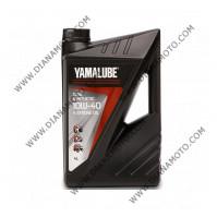 Масло Yamalube 4T 10W40 Полусинтетика 4 литра к. 27-6