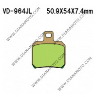 Накладки VD 964 EBC FA266 FERODO DP631 LUCAS MCB700 Ognibene 43028501 СИНТЕРОВАНИ к. 41-166