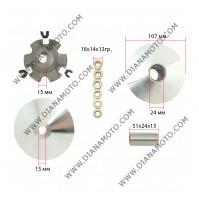 Вариатор к-т GY6 125-150 с перка за охлаждане к. 3-193