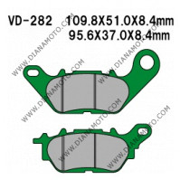 Накладки VD 282 EBC FA464 SFA464 CARBONE 1224 3099 Nagano Органични к. 8514