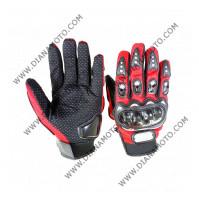 Ръкавици Pro-Biker червени L k. 16-76