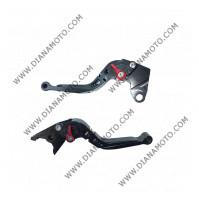 Ръкохватки спортни къси к-т регулируеми чупещи Kawasaki ZX6R 00-04 ZX9R 00-03 к.9034