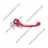 Ръкохватка спирачка спортна къса чупеща червена Honda CRF150 CRF250 R CR500 к. 9474