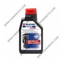 Масло Suzuki Морско 4T 10w40 Полусинтетика 1 литър к. 9527
