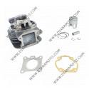 Цилиндър к-т с гарнитури Kymco 50 Sym 50 STD AC ф 39.00 мм болт 12мм ОЕМ качество к. 7642