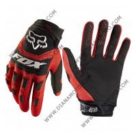 Ръкавици FOX крос червено-черни M к. 16-103