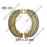 Накладки VB 101 ф 109х25мм EBC 893 SBS 2012 FERODO FSB704 к. 1871