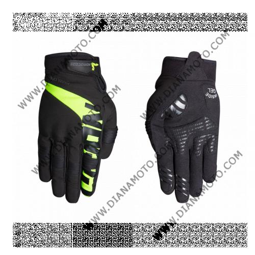 Ръкавици GLEN II черно-жълти Nordcode M к. 11631
