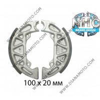 Накладки NHC ф 100х20мм MBS6614 EBC 806 k. 14-102