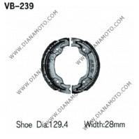 Накладки VB 239 ф 129.4х28мм EBC 527 521 FERODO FSB947 к. 5301