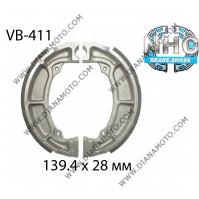 Накладки VB 411 ф 139.4х28мм EBC 705 FERODO FSB799 NHC MBS4406 к. 14-349