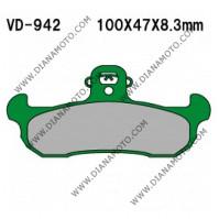 Накладки VD 942  EBC FA134 FERODO FDB499 Органични к. 2242