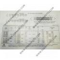 Ангренажна верига Grand 150 94568-77088 равна на DID SCA 404 - 88L к. 1762