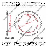 Зъбчатка задна JTR 763 - 40 k. 11290