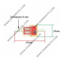 Бензинов филтър 1/4 = ф 6.35 мм цветен равен на код RMS 100607010 к. 9284