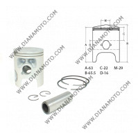Бутало к-т Yamaha DT 125 LC 10W ф 56.00 мм STD 2T OEM качество к. 10301