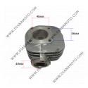 Цилиндър к-т с гарнитури Suzuki  Lets 50 ф 41.00 мм болт 10 мм AC ОЕМ качество к. 187