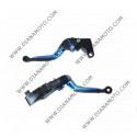 Ръкохватки спортни къси к-т регулируеми чупещи Honda CBR954 RR 2002-2003 CBR600 RR 2003-2006 к. 6340
