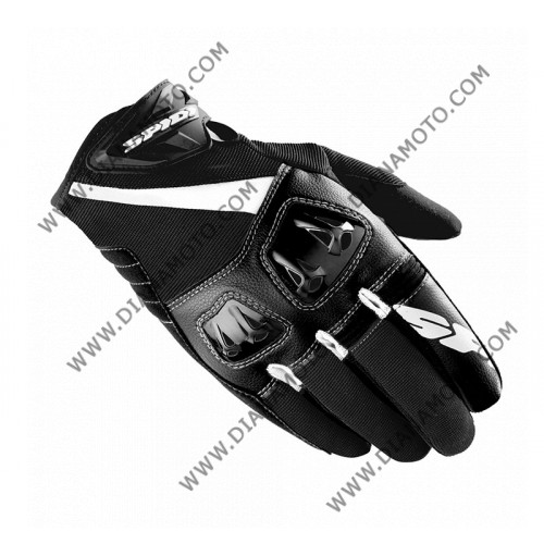 Ръкавици Flash-R Spidi Черно-бели XL k. 8170
