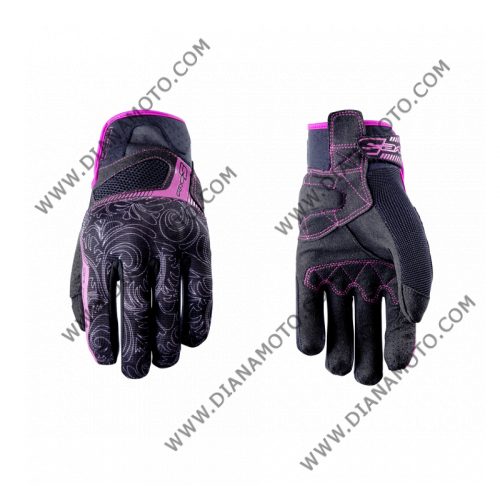 Ръкавици RS3 Replica Lady черно-розови Black FIVE M к. 11639