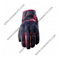 Ръкавици RS3 чернo червени Black FIVE размер L к. 7488