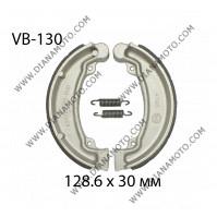 Накладки VB 130 ф 128.6х30мм EBC 310 FERODO FSB706 Honda CM 200  Cub 125 к. 2303