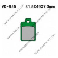 Накладки VD 955 EBC FA255 FERODO FDB2056 FDB2037 LUCAS MCB688 Nagano Органични к. 2286