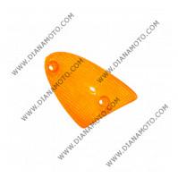 Стъкло за мигач Aprilia SR 50 преден десен оранжев с два болта к. 5466