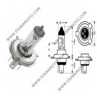 Крушка за фар 12V/60/55W H4 P43T Халоген к. 551