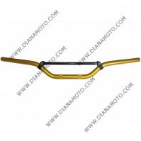 Кормило крос ендуро алуминиево жълто k. 1550