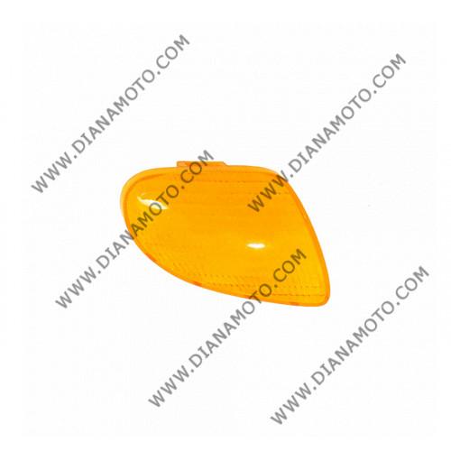 Стъкло за мигач Yamaha Aprio 50 4JP преден десен оранжев к. 1083