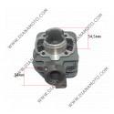 Цилиндър к-т с гарнитури Peugeot Buxy Elyseo Elystar Looxor Metal-X Speedake Speedfight 1-2 SV TKR Trekker Zenith 50 ф 40.00 мм болт 12 мм AC равен на код RMS 100080070 ОЕМ качество к. 1646