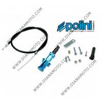 Комплект ръчен смукач за карбуратор син POLINI  OEM 316.0012  к. 11974