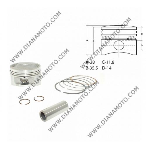 Бутало к-т Honda SH 150 ф 58.00 мм STD болт 14 мм ОЕМ качество к. 9731