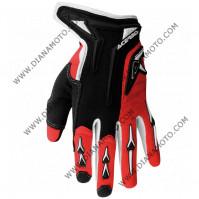 Ръкавици Acerbis MX X2 червени L k. 8085
