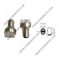 Крушка за стоп к-т 2бр. 12V/21/5W BAY15D  LED LIMASTAR к. 11132