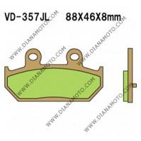 Накладки VD 357 AX35-412 ARTRAX СИНТЕРОВАНИ к. 8773