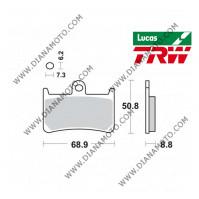 Накладки VD 248 EBC FA252 LUCAS MCB611 Lucas TRW СИНТЕРОВАНИ к. 4699