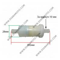 Бензинов Филтър 3/8 ф 10 мм k. 4432