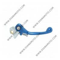 Ръкохватка спирачка спортна къса чупеща синя Yamaha YZ80 125 250 450 WR250 450 Suzuki RM65 85 125 RMZ250 450 к. 9475