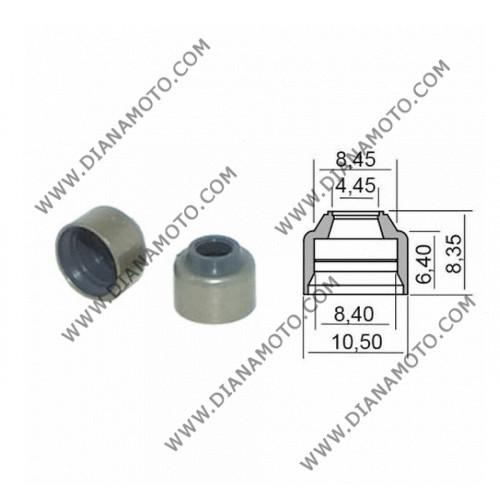 Гумички за клапан Yamaha Majesty 400 XMAX 400 YZF R1 4.45x8.4-10.5x6.40-8.35 равни на код RMS 100669310 к. 9586