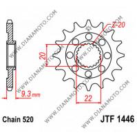 Зъбчатка предна JTF 1446 - 13 SC самопочистваща к. 8594