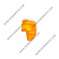 Стъкло за мигач Yamaha BWS 50 -99 заден десен oранжев к. 5482