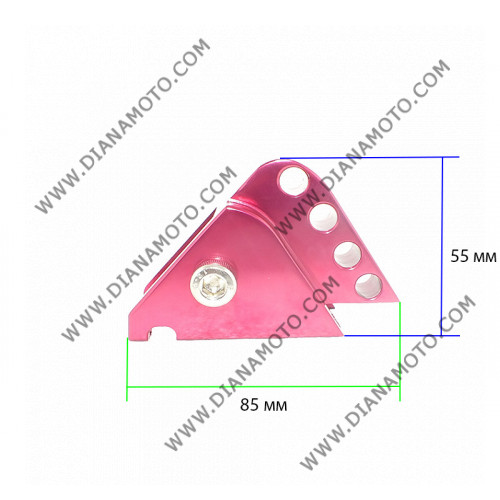 Повдигач за амортисьор YAMAHA Aerox BWS 50 червен к. 10198