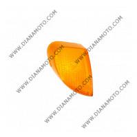 Стъкло за мигач Yamaha JOG 50 SA01J 5BM8333200 заден ляв оранжев к. 1077