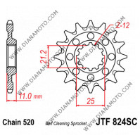 Зъбчатка предна JTF 824 - 14 SC самопочистваща к. 9001