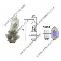 Крушка за фар 12V/35/35W 3 крачета Халоген бяла P15D-25-3 к. 559