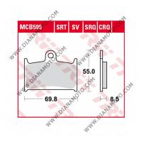 Накладки TRW MCB595SV LUCAS VD 343 EBC FA236 FA145 FERODO FDB557 СИНТЕРОВАНИ к. 28-24