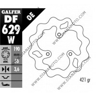 Спирачен диск преден-заден Aprilia 50-125 Piaggio 50-125 ф 190x58x4.0 мм DF629 равно на код RMS 225160200 к. 9356